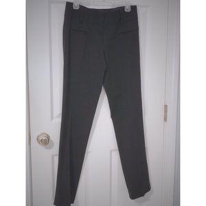 Express Editor Flare Black Dress Pants